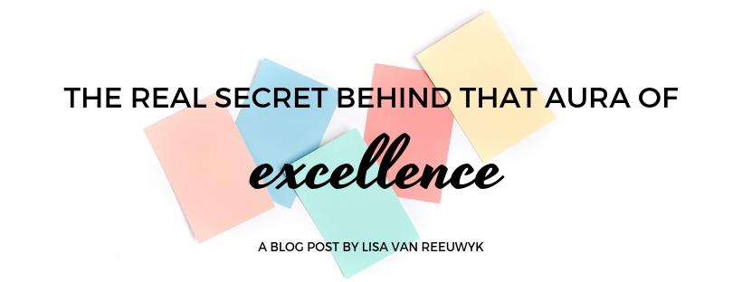 The secret successful people hide - @BloomLisa