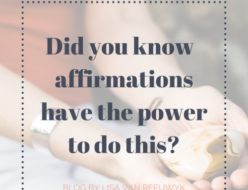 Did you know your affirmations can do this?