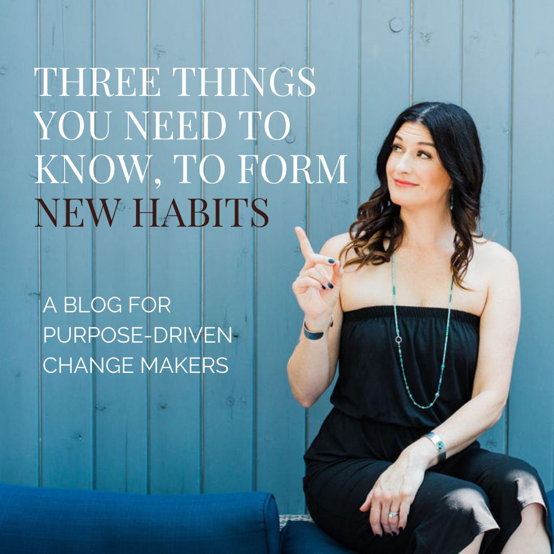 Habit forming blog by Lisa van Reeuwyk @BloomLisa