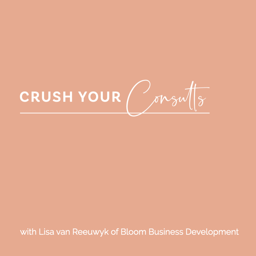 Crush your consults - Bloom Business Development