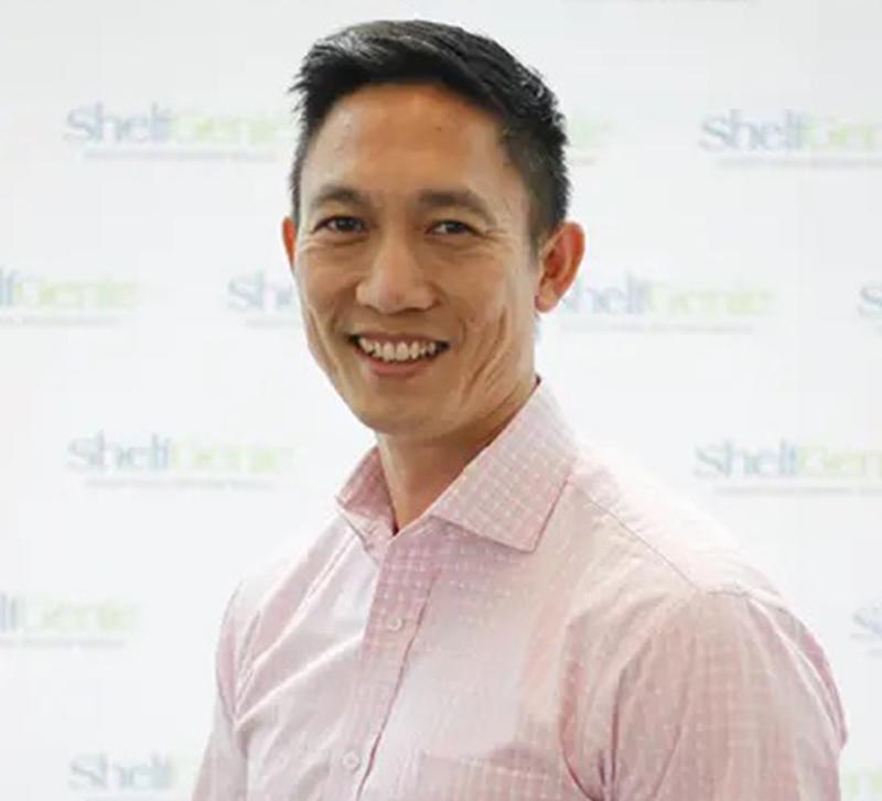 Joseph Choi from Shelf Genie