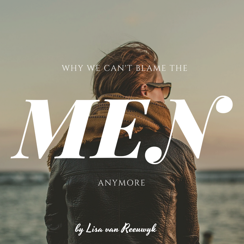 """Why we can't blame the men anymore."" - @BloomLisa"