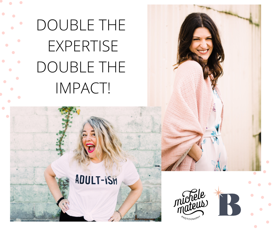 Fire up your business with Lisa van Reeuwyk and Michele Mateus