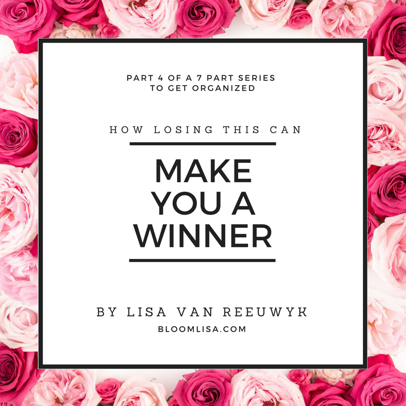 """""""How losing this can make you a winner."""" - @BloomLisa"""